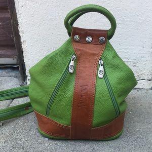 Valentina Bags - Lime Green Valentina Convertible Bag